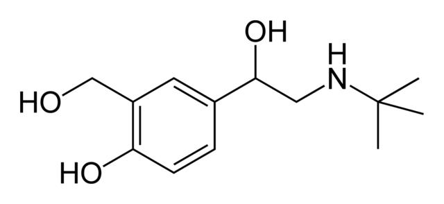 Salbutamol – Inhaltsstoff von Ventolin